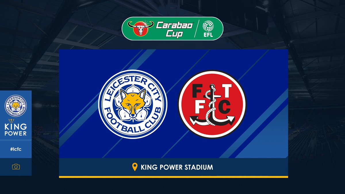 Leicester City On Twitter Lcfc Will Host Fleetwood Town In The