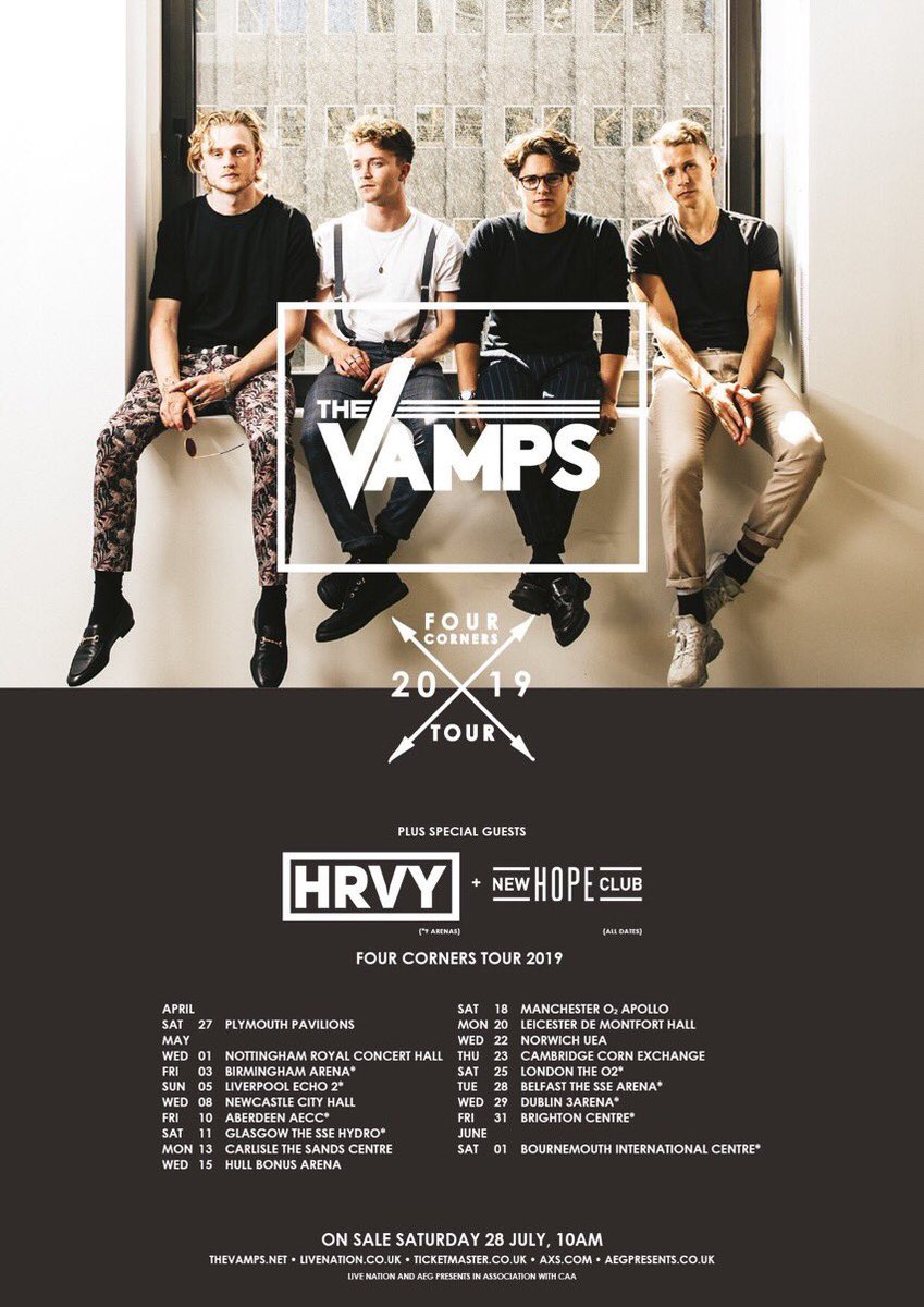 The Vamps Thevampsband Twitter