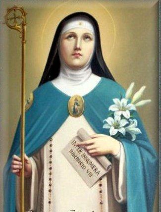 Santa Beatriz de Silva. Fundadora   / San Jacinto Patrono de Polonia 16 Agosto https://t.co/bHQRN19oX4 https://t.co/CLiUvQWABm