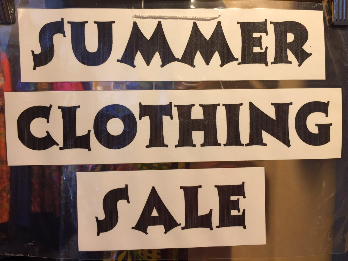 test Twitter Media - Further reductions in our summer sale!   More lines added and many items now at least 50% off and/or under £5.  All sale baby items now £5 or less. All women's sale items now at least 50% off. #fairtrade #Cardiff https://t.co/vTs6pMKENo