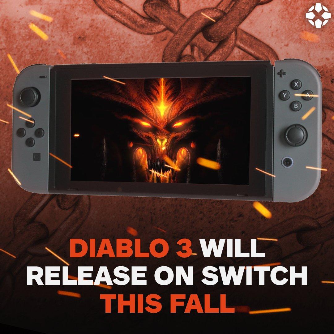 Who's ready for Diablo 3 on Switch? �� https://t.co/ee2HKMi1y5
