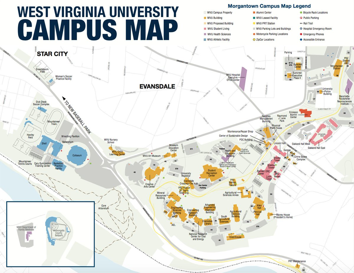 Wvu Campus Map WVU Mountaineers on Twitter: