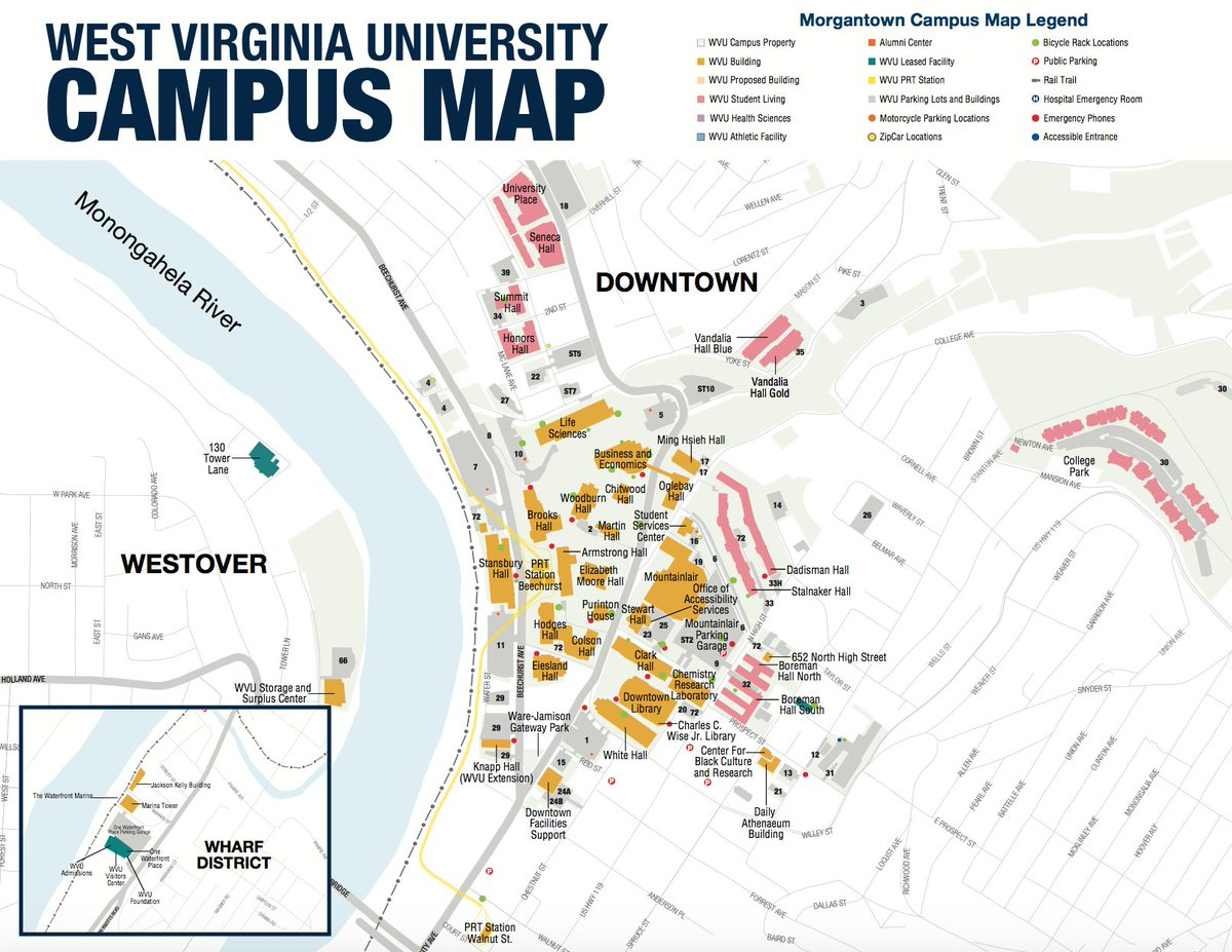 Wvu Mountaineers On Twitter Campus Maps Are Your New Best Friend