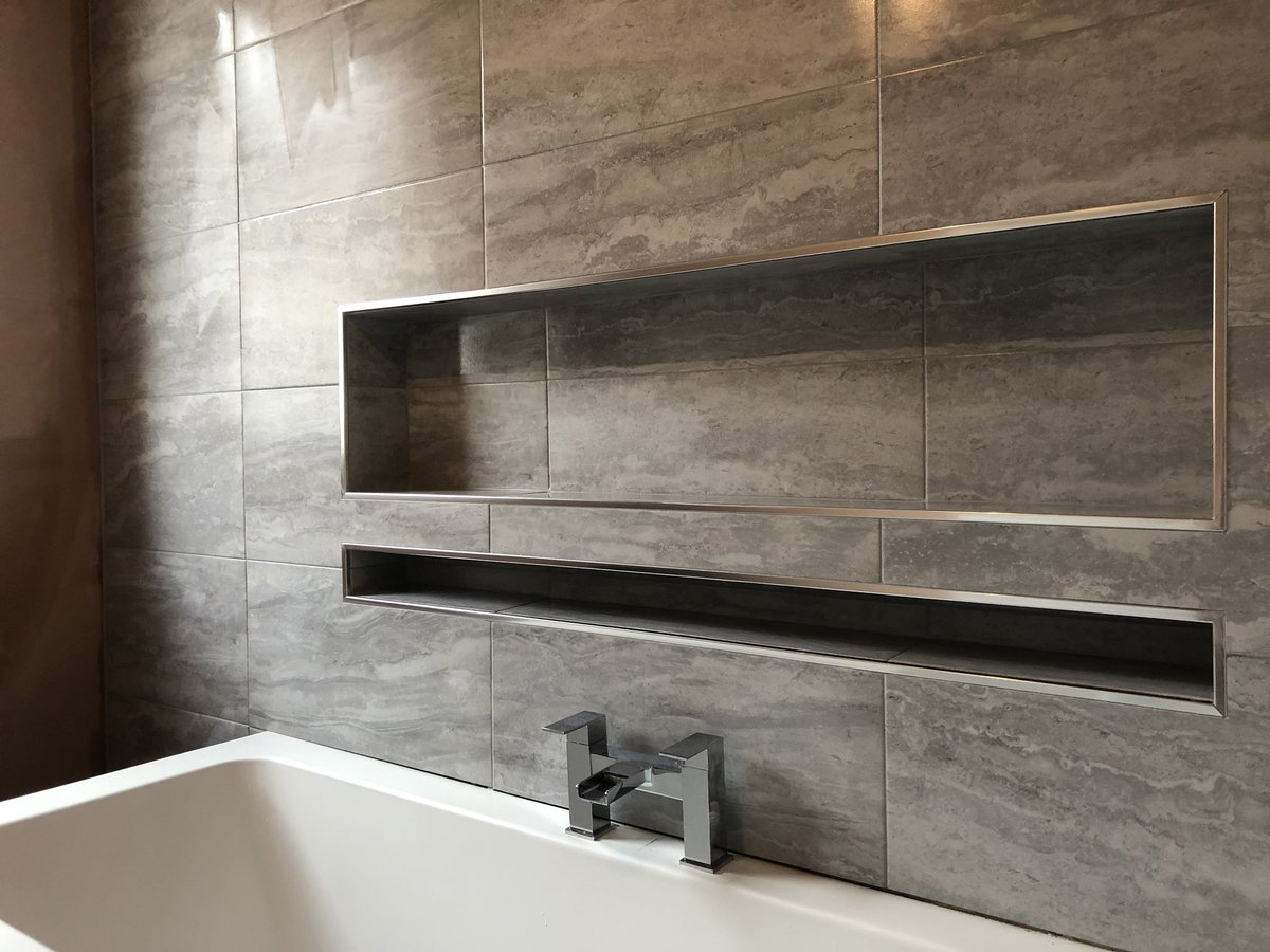 Anyone looking to get some tiling done in Glasgow/Coatbridge give me a shout for a free quote. here is my facebook page for a look at some of my work, Cheers :  https:// m.facebook.com/DK-Tiling-Serv ices-381386239044405/ &nbsp; … <br>http://pic.twitter.com/kelL9Iyu3D