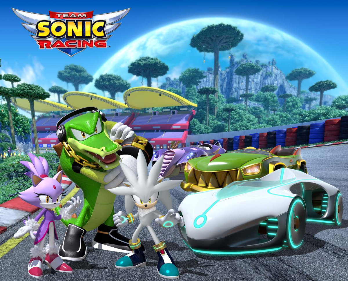 Team Sonic Racing is debuting Team Vector at #Gamescom2018. Details and images here:  https:// nintendowire.com/news/2018/08/1 6/team-sonic-racing-debuting-team-vector-at-gamescom-2018/ &nbsp; … <br>http://pic.twitter.com/aUZYSKAYrt