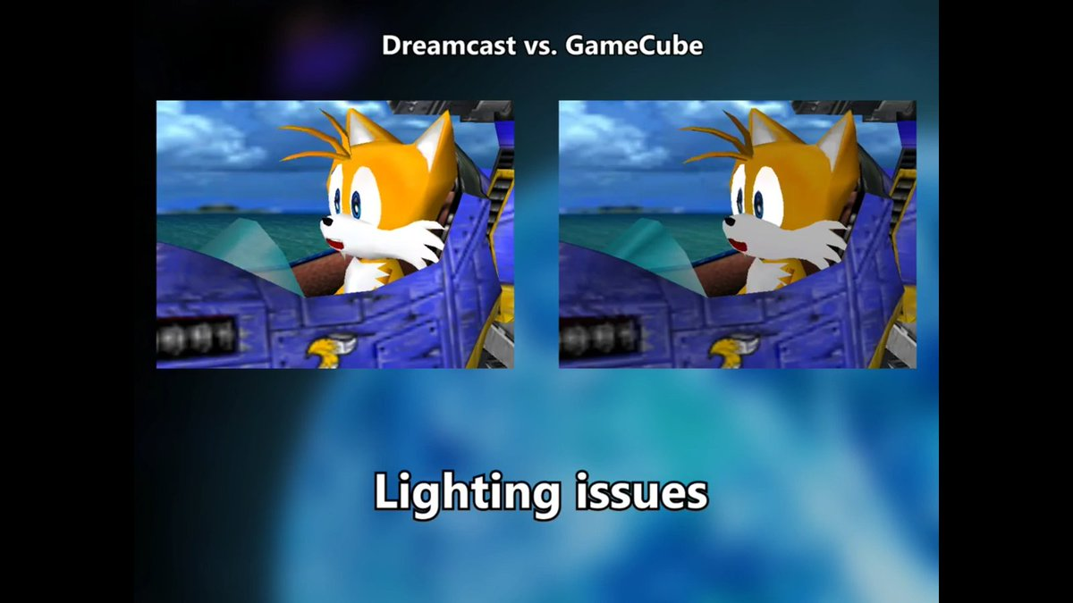 It&#39;s amazing how bad the Sonic Adventure ports were once those games left the Dreamcast.  https://www. youtube.com/watch?v=yMauzP cOorQ &nbsp; … <br>http://pic.twitter.com/HsIfvtqvZj