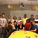 Farewell party for Sofia - a NY high school student that worked in #QuaveLab this summer. She said her biggest takeaway from the experience was 1) great sense of community in the lab (thought science as more of a solo endeavor before) & 2) discovery of how much she loved science!