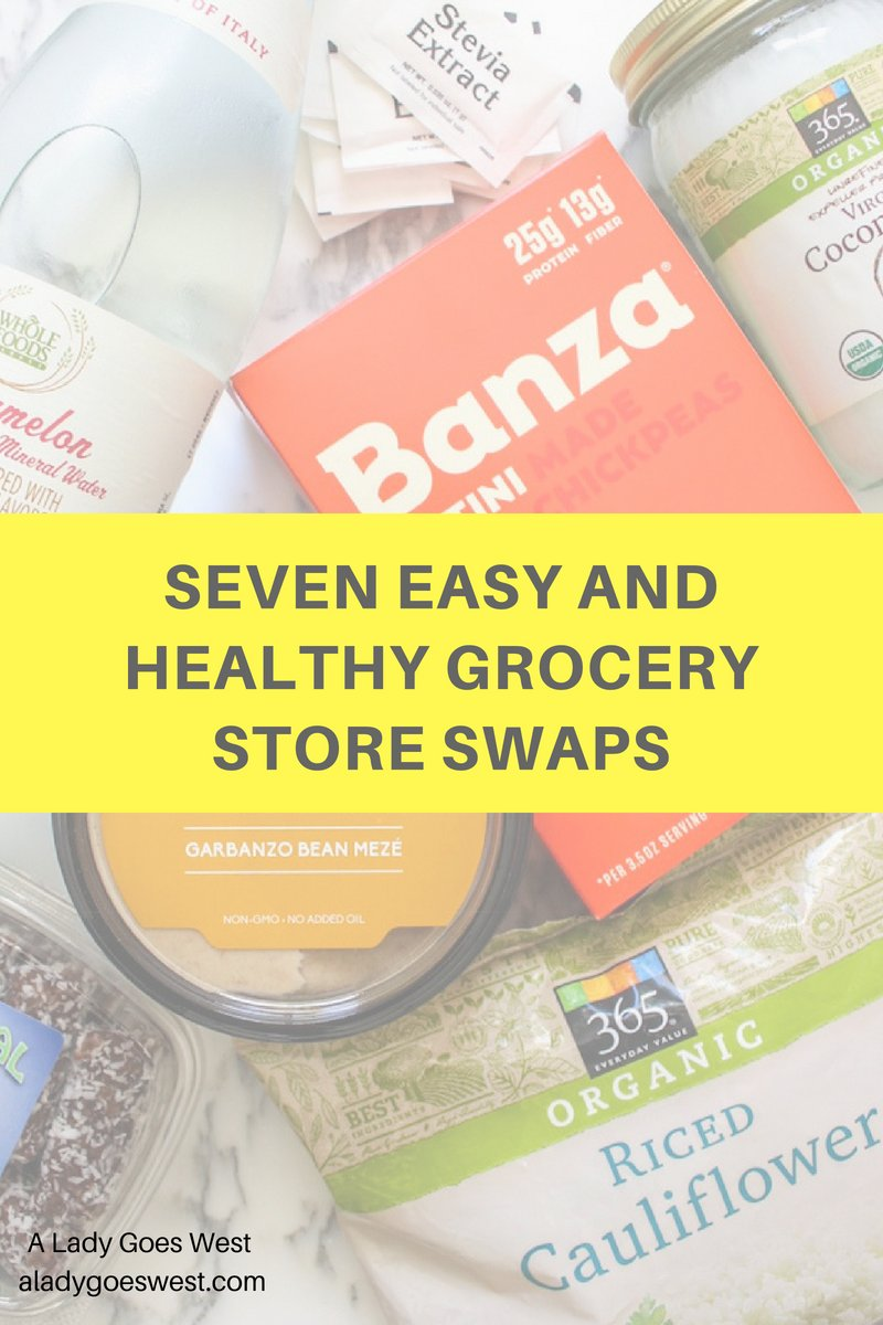 Interested in cleaning up your grocery haul in a simple way? Check out these healthy swaps ...  http:// bit.ly/2JN07il  &nbsp;  <br>http://pic.twitter.com/IZPDoT1xUp