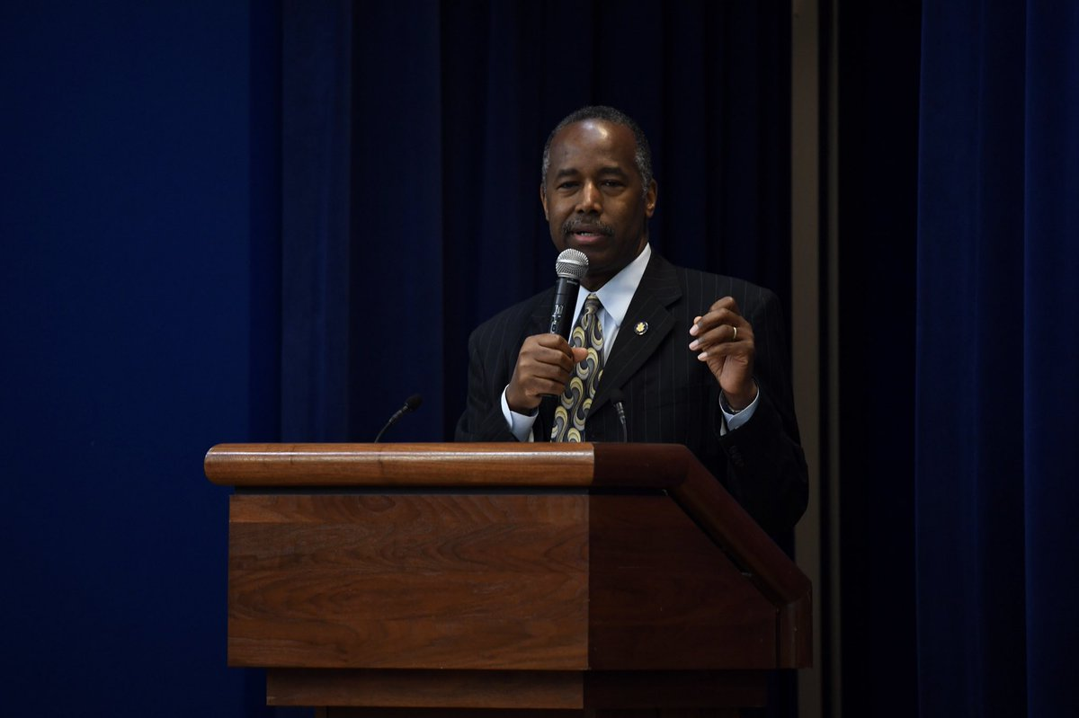In Nebraska, @HUDgov is addressing the problem of declining minority home ownership by providing funding and loan guarantees. We are also working with the manufacturing industry to peel back costly regulations which are driving up housing prices. <br>http://pic.twitter.com/ebFfblpG8N