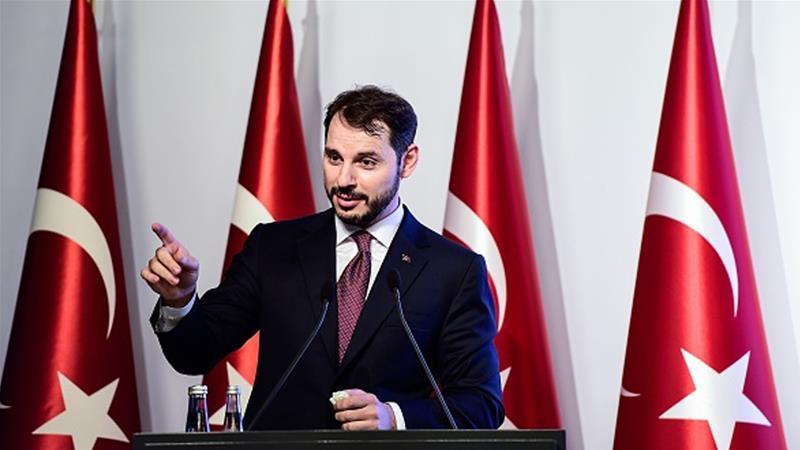 Berat Albayrak: Turkey to emerge &quot;stronger&quot; from currency crisis  http:// aje.io/jkkfv  &nbsp;  <br>http://pic.twitter.com/cgv0ymKCVB