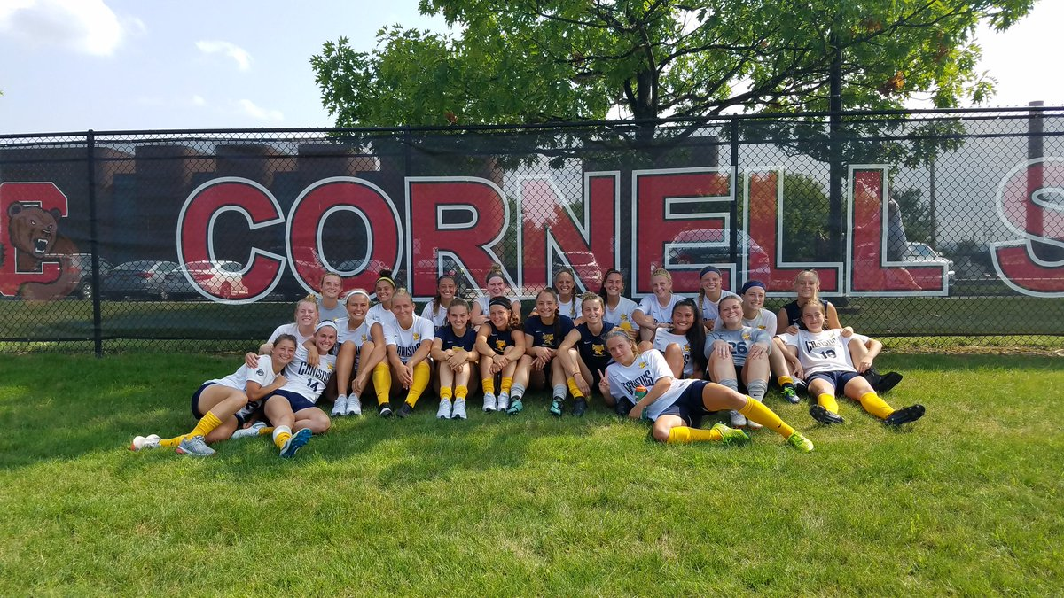 Great effort in final exhibition today with @CornellWSoccer. Some great competition and positive in a 1-0 win. @GoGriffs @CanisiusCollege<br>http://pic.twitter.com/sU0YuYI6KP