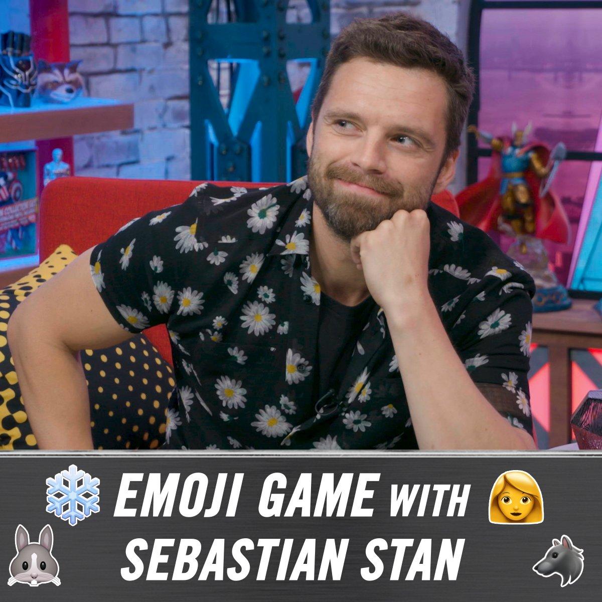 �� + ❄️ = ? Play the Emoji Game with Sebastian Stan! #InfinityWar https://t.co/Ipo1GyoSZE