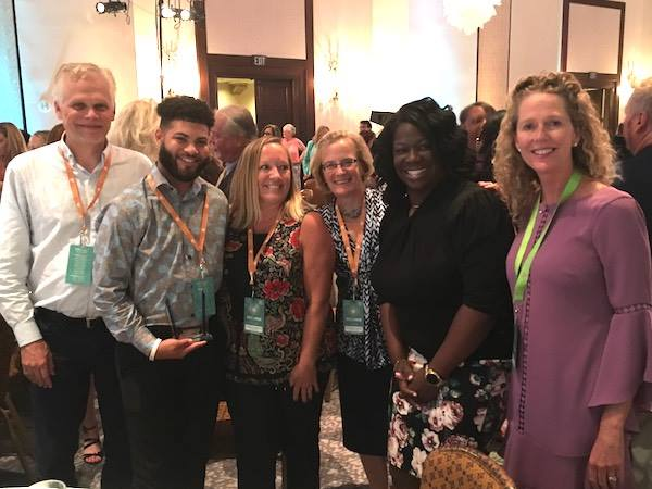 test Twitter Media - This month, OHU's DeAngelo Pittard (second from the left) was selected as the Case Manager of the Year for the entire state of Florida! https://t.co/qgZP3y6d94