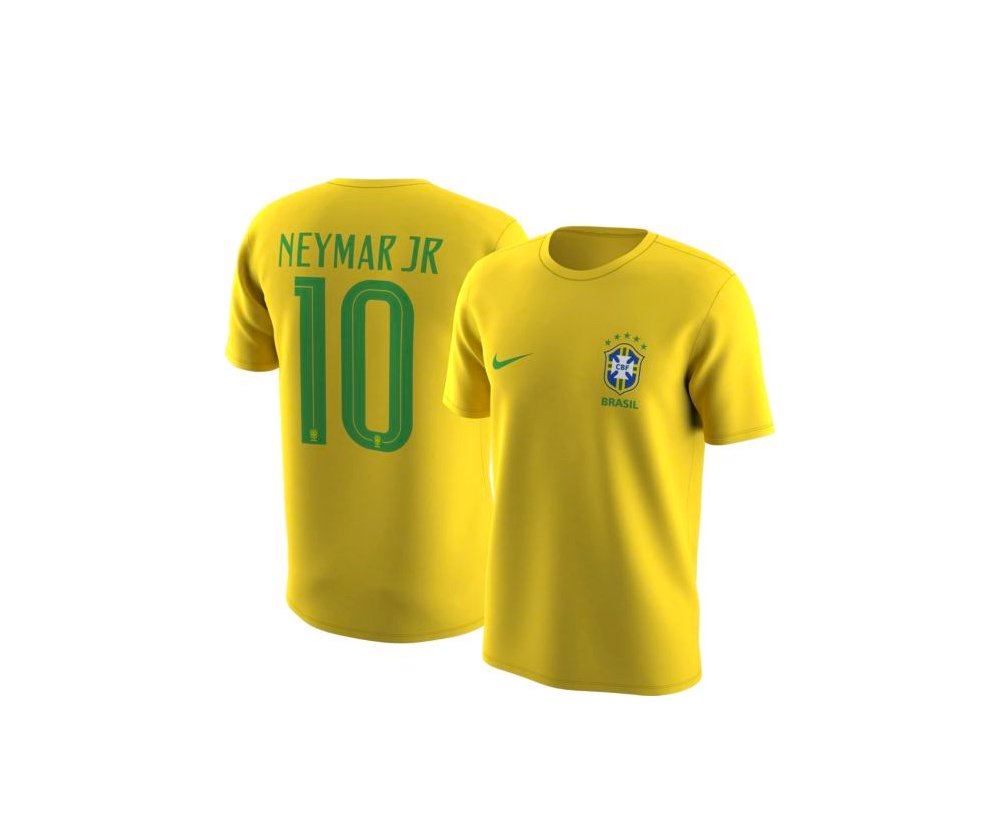 HUGE STEAL: Nike Brazil &quot;Neymar&quot; Jersey T-shirt in Yellow only $8.75 (75% OFF)   BUY HERE:  http:// bit.ly/2nJNbw9  &nbsp;  <br>http://pic.twitter.com/2aUpURvaWf