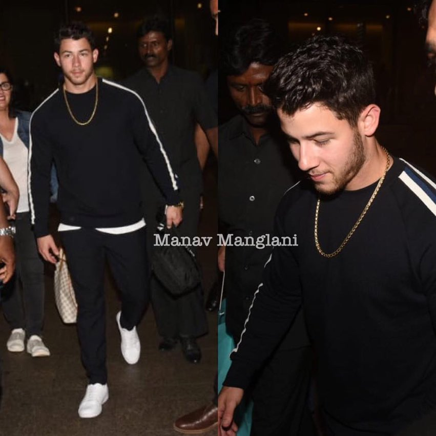 UPDATE 8/16: @nickjonas and his curls are traversing the globe! Here, Nick and his full head of shining, healthy hair were spotted in Mumbai. #NicksCurlsAreOffTheChain<br>http://pic.twitter.com/CrsPJj4wY9