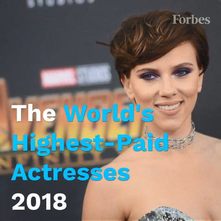 Introducing the world's highest paid actresses of 2018.  Did your favorite make the list? https://t.co/5JzbXS96et https://t.co/cL3uWXYm76