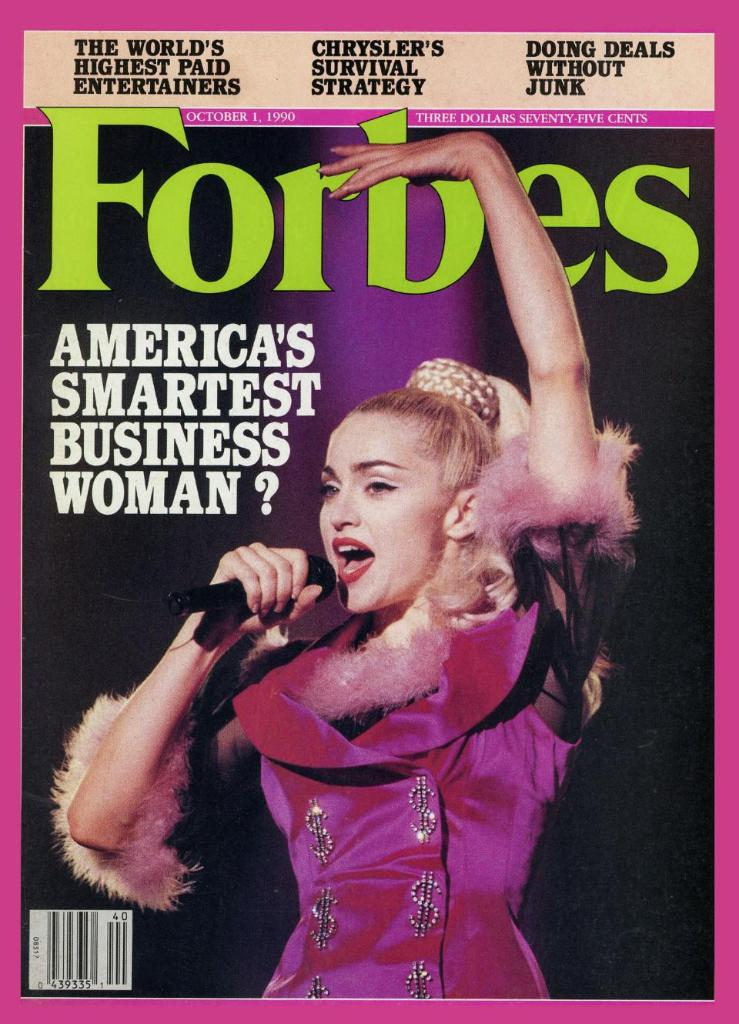 Madonna turned 60 years old today: inside her 1990 Forbes cover story
