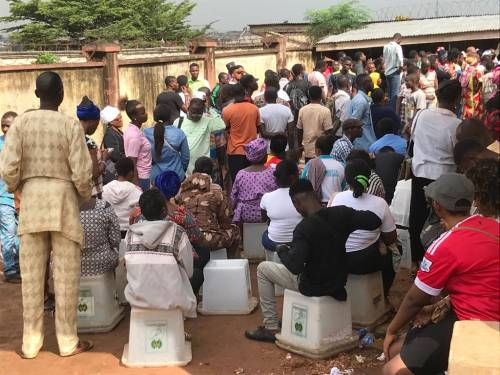 REVEALED: How INEC Officials Connive With Touts To Charge N1,500 For PVC Registration @inecnigeria READ MORE:  http:// bit.ly/2OFq4hy  &nbsp;  <br>http://pic.twitter.com/cqdLPopfIU