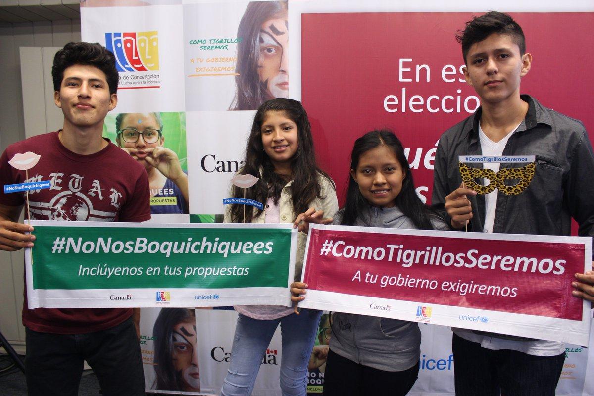 """test Twitter Media - """"En estas elecciones, ¿qué dicen las y los adolescentes?""""   #NoNosBoquichiquees / #NoNosFlorees.  Vídeo ► https://t.co/FR1q9ftJ0O #ComoTigrillosSeremos a tu gobierno exigiremos.  Vídeo ► https://t.co/0Dvp8YzqrD  @DeltaMdelta @alvarezrodrich @mabel_huertas @atokito https://t.co/N6uRVExbNz"""