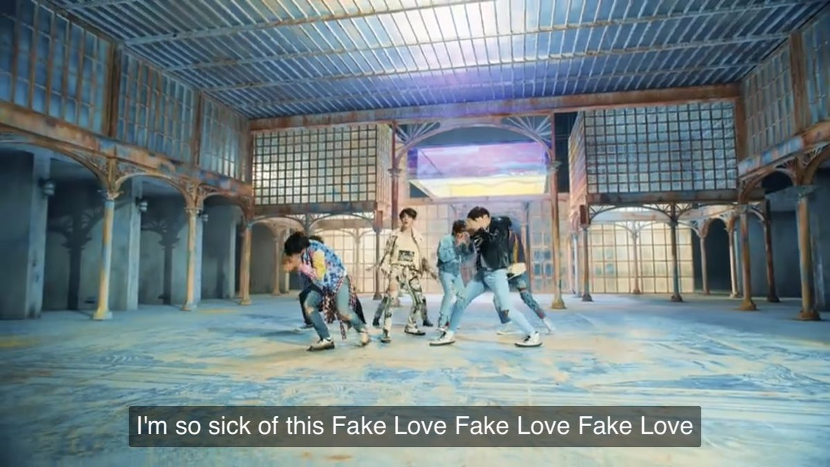 #LYStreamingParty   Moved back to YouTube lol. After Epiphany, this was the next song   Fake Love MV Link:  https:// youtu.be/7C2z4GqqS5E  &nbsp;    @BTS_twt<br>http://pic.twitter.com/UuSLbIFiJf