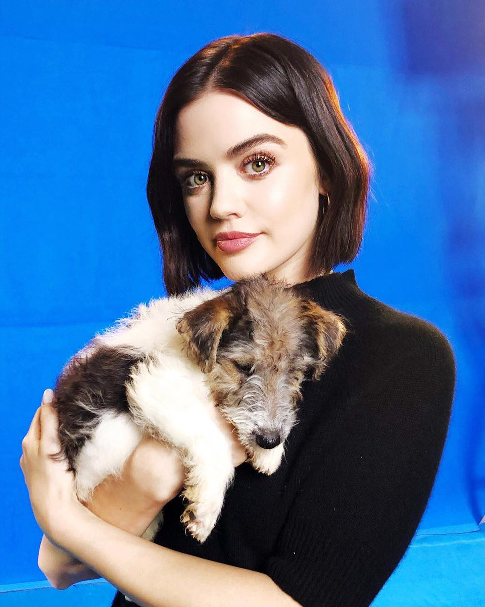 Lucy Hale  - Seriously co twitter @lucyhale