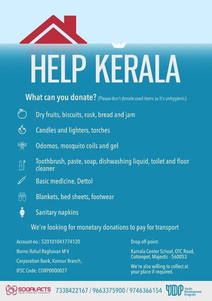 Bobins Abraham's photo on #KeralaFloods