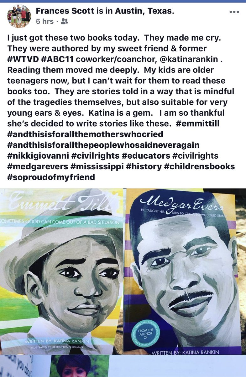 This blessed my entire night. #EmmettTill #MedgarEvers <br>http://pic.twitter.com/TtcQVSZwbl