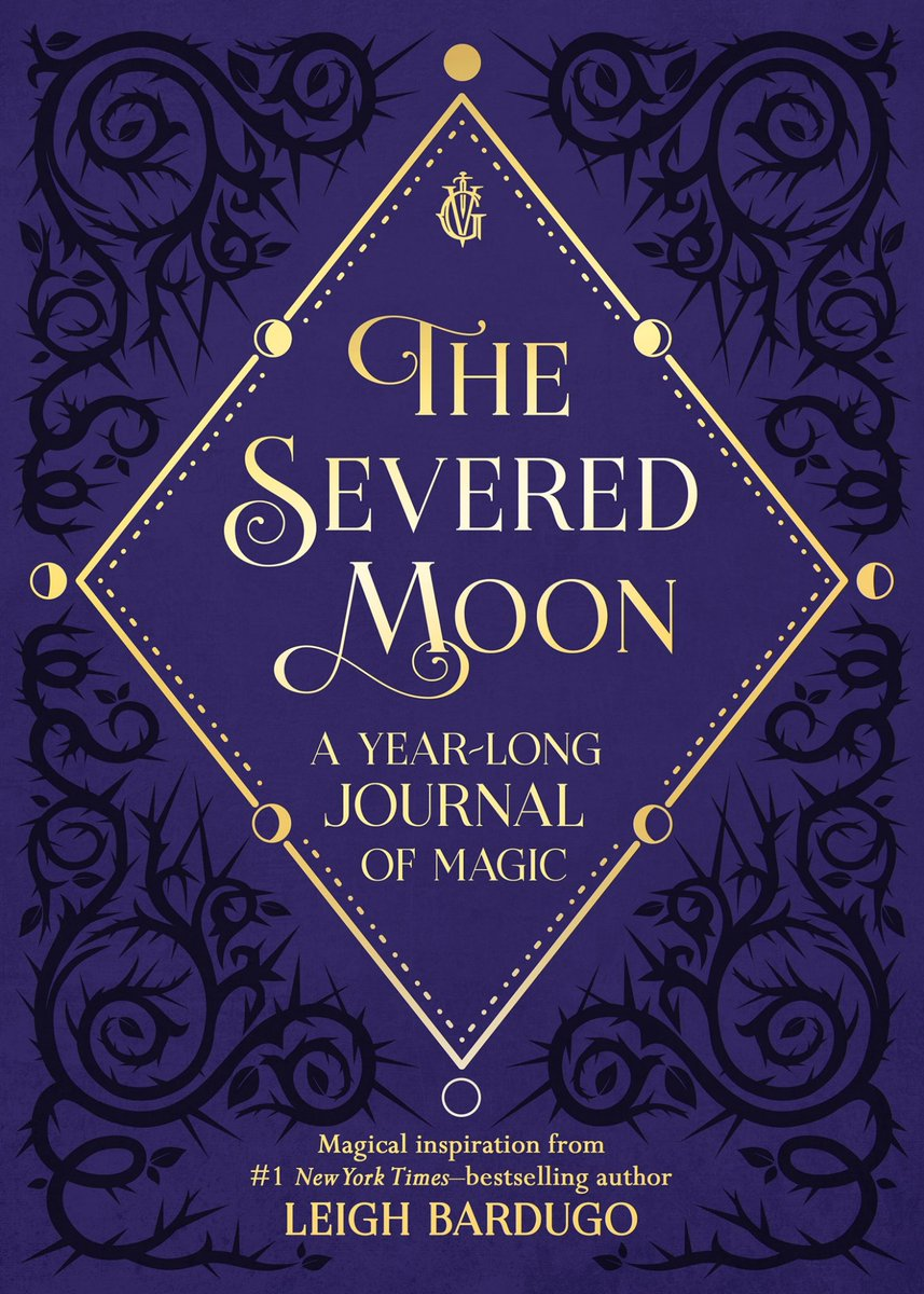 Been working on something a little different to share with you: The Severed Moon, a year-long journal of prompts, magical inspiration, and Grishaverse quotations🌙🖤 preorder here https://t.co/WXDmA8udAd