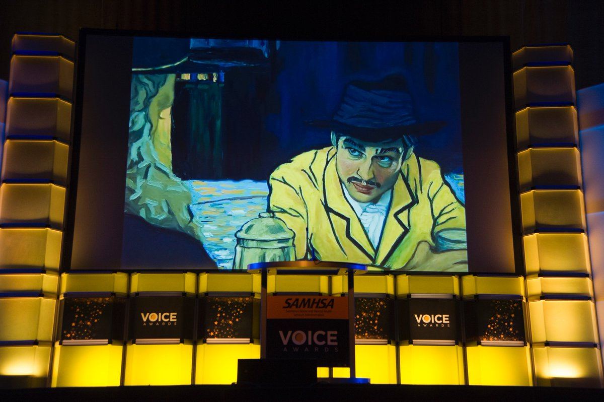 Thank You Samhsagov And LeaKThompson For Presenting LovingVincent With A SAMHSA VoiceAward Filmpictwitter MstuGon1x2