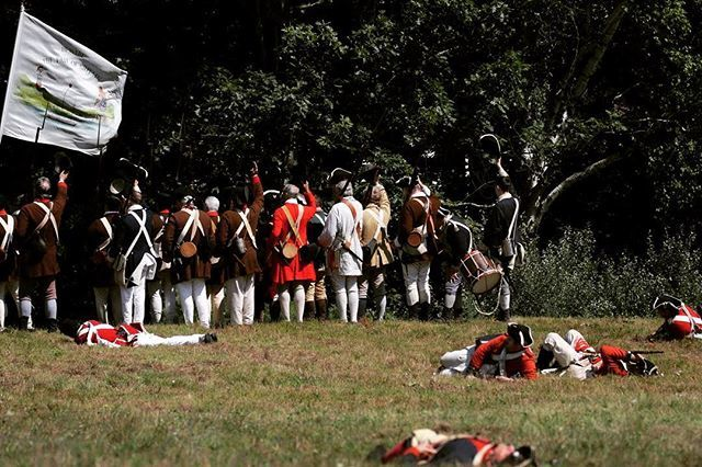 """If we are to fight make sure we finish on the ground where the enemy started"" #rebelsandredcoats #patriots #revolutionarywar #reenactment https://t.co/h4mDwd2v54"