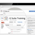 Image for the Tweet beginning: G Suite Training Chrome extension: