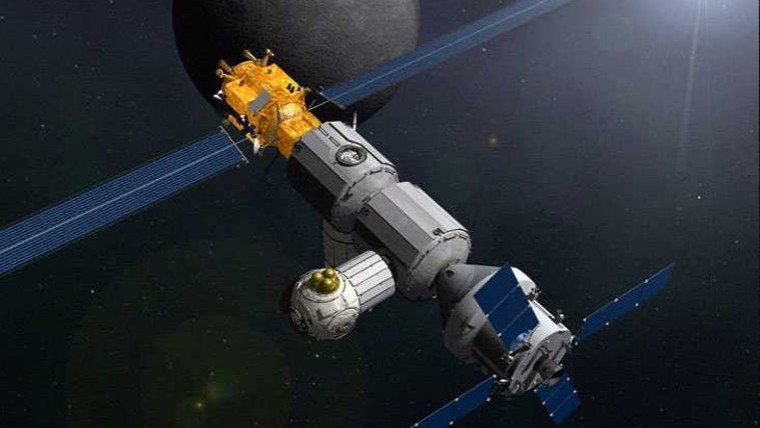 Updated...Lunar Orbital Platform-Gateway (LOP-G) page - future moon orbiting space station. https://t.co/RWbx85obYl #nasa #missions #russia #science