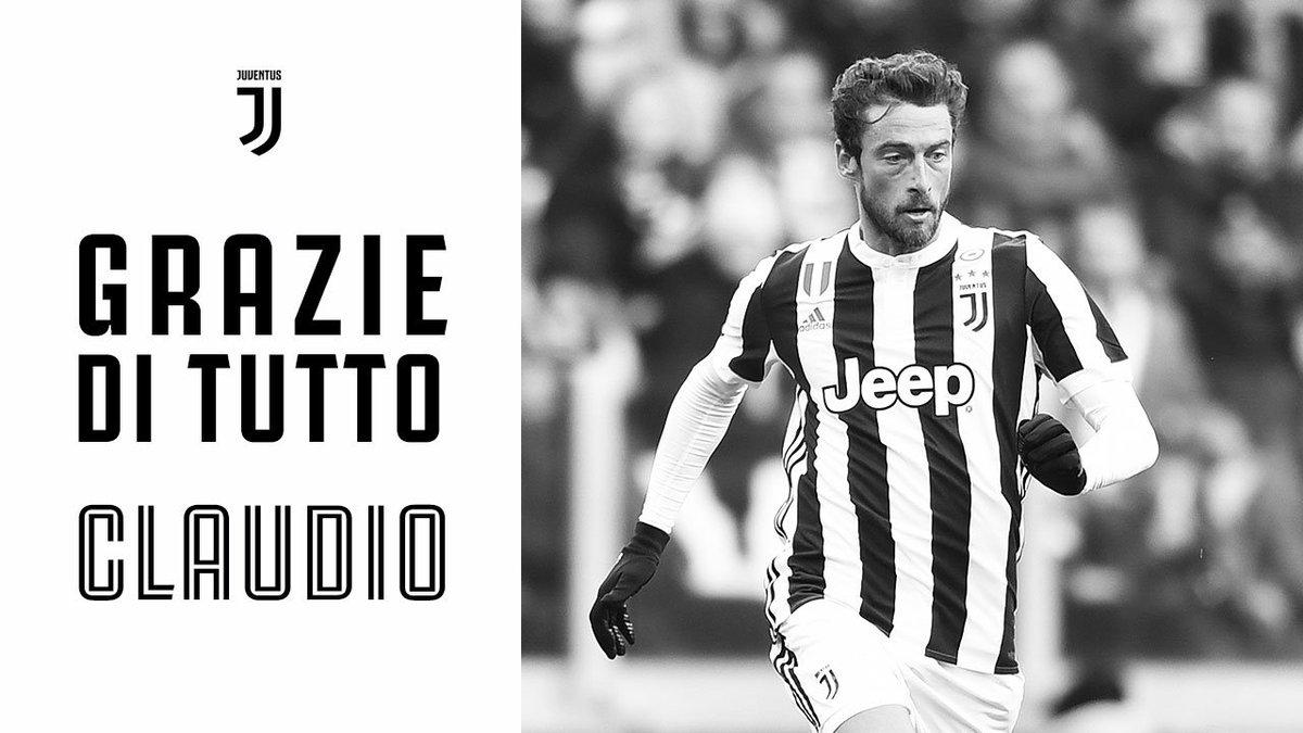 Hoy es el ultimo dìa de la aventura de @ClaMarchisio8 con la Juventus Una vida en ⚪️⚫️ Para siempre en ⚪️⚫️ ➡️ juve.it/KkRa30lrIYl