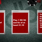 Image for the Tweet beginning: It's the midnight hour...  Today's #poker