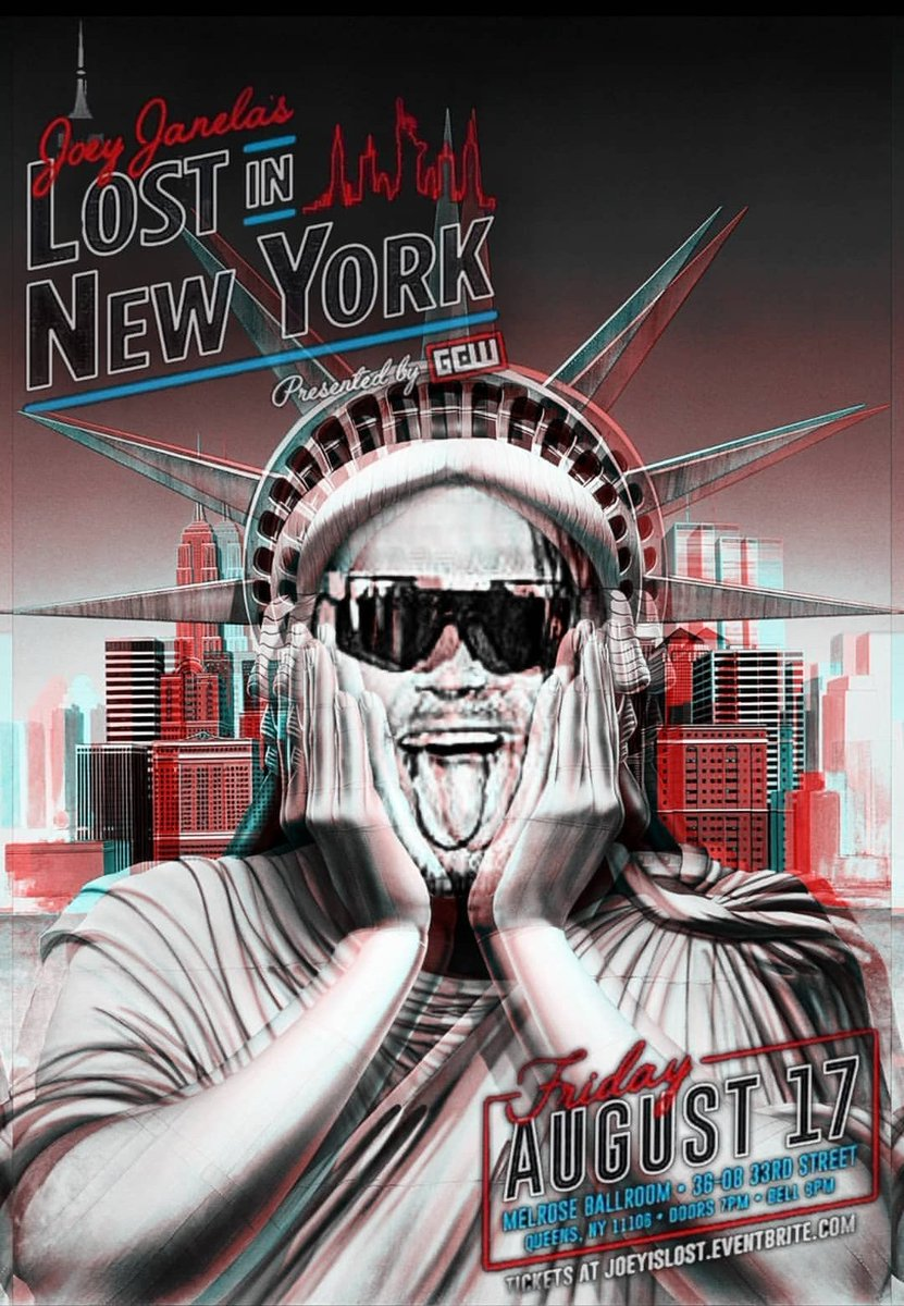Seriously. This is the one. If you didnt get a ticket, you can watch #LostInNY LIVE on iPPV! Info/Order Now: fite.tv/watch/joey-jan…