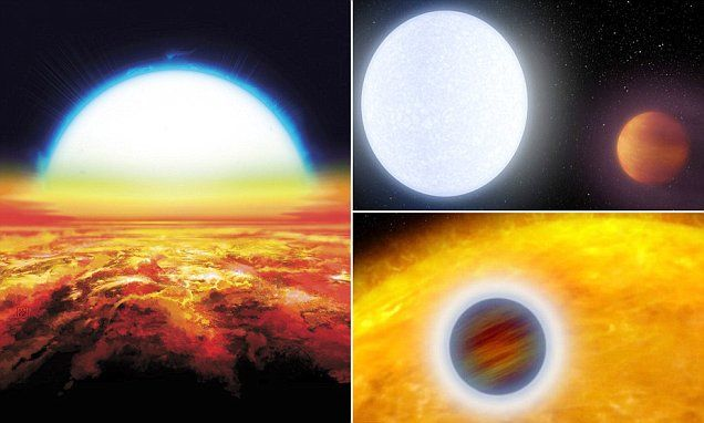 Hottest planet ever detected reaches temperatures in excess of 4,000°C https://t.co/c1heE9dvuF