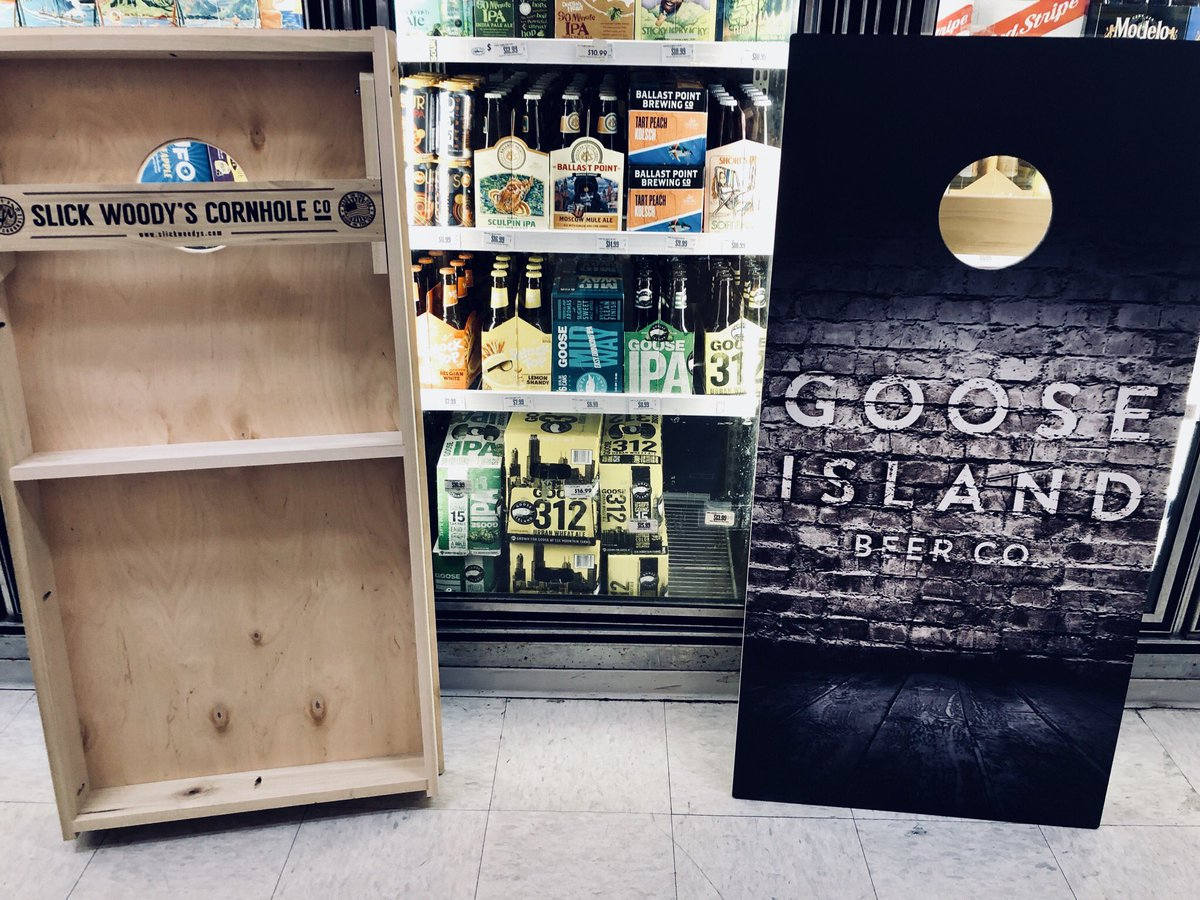 Thanks to the brains behind @MatthewShackett we&#39;re giving away a sweet @GooseIsland Corn Hole set from @slickwoodys! No purchase necessary. Local pickup w/in 1 week to claim. RT, Like &amp; Follow to sign up! Must be 21+ to enter. Winner chosen 8/29/18 #RileysHasIt #FunSecured<br>http://pic.twitter.com/q2aMohmq80