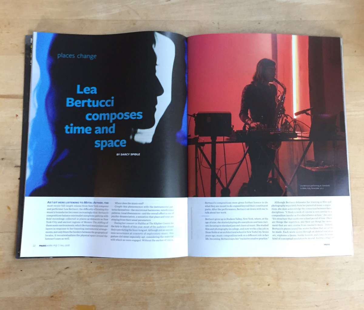 I wrote about Lea Bertucci for the latest issue of @MusicworksMag.<br>http://pic.twitter.com/KbO5XCrcDW