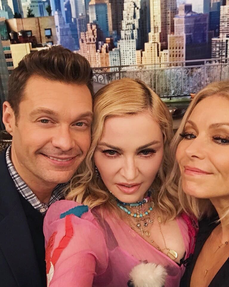 Sending love to our close personal best friend (in my mind at least). Happy bday @Madonna!