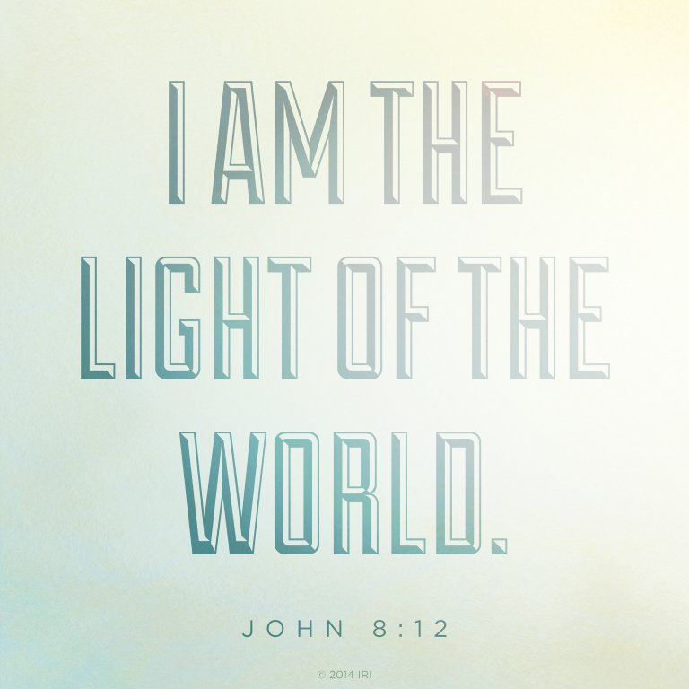 Liken The Scriptures On Twitter He Is The Light Of The World