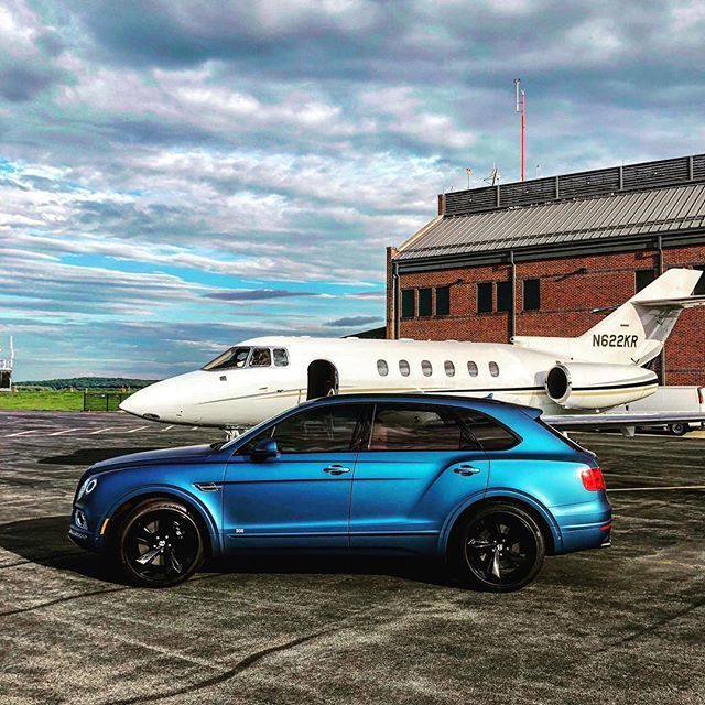 As the trip comes to a close, there is no better way to finish out the journey home. #bentleybentayga @bentleymotors #privatejet #exquisiteinteriors #travel #summertrip #arrival  https:// ift.tt/2PdZuxf  &nbsp;  <br>http://pic.twitter.com/w26MEXp2fm