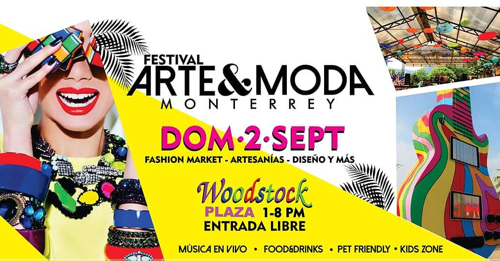Festival Arte &amp; Moda Mty  2/SEP @ Woodstock Plaza • #PetFriendly<br>http://pic.twitter.com/ASkx2qRT9M