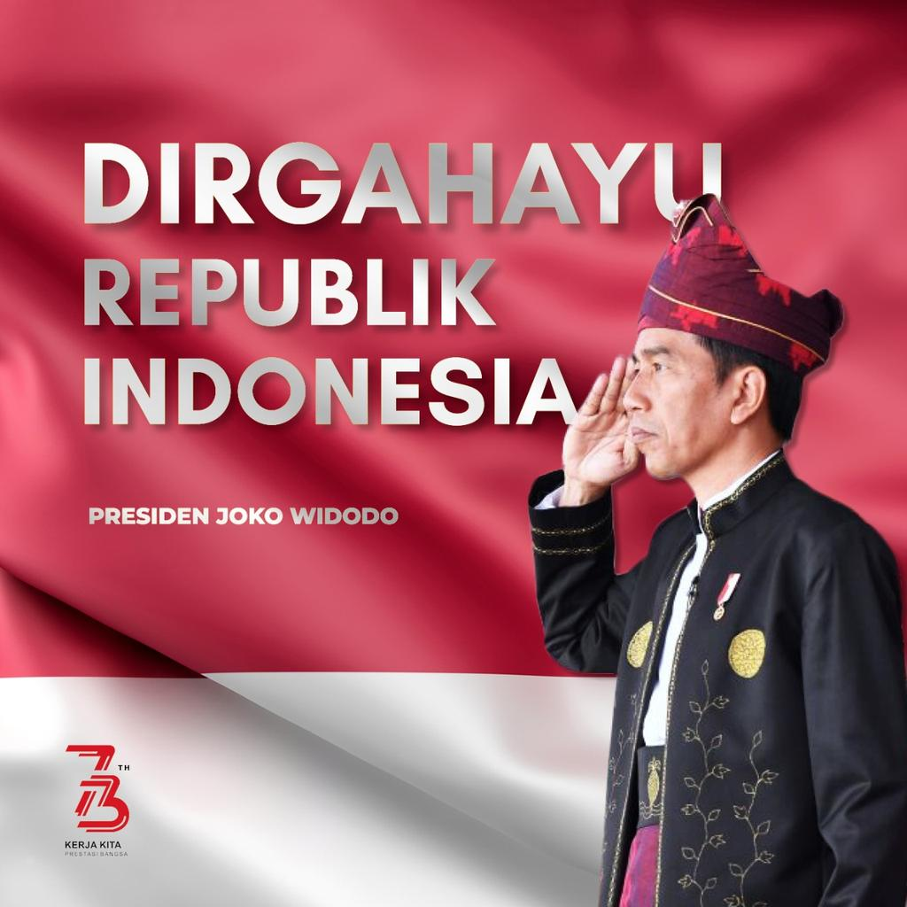 Joko Widodo's photo on dirgahayu indonesia