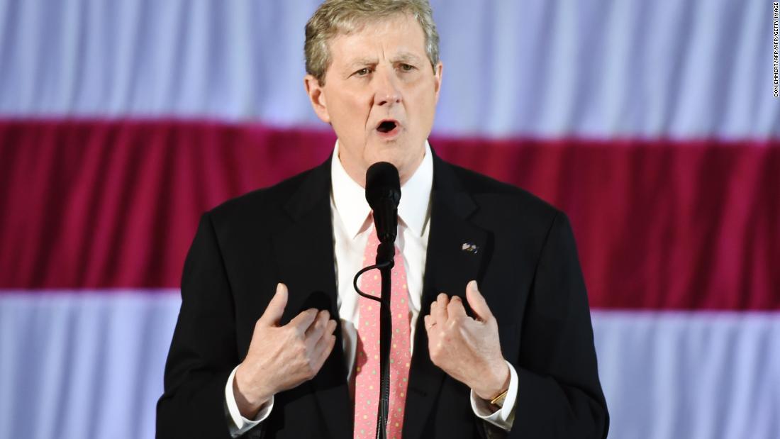 Republican Sen. John Kennedy says ex-CIA chief John Brennan is a butthead who doesnt need a security clearance cnn.it/2BqvVG2