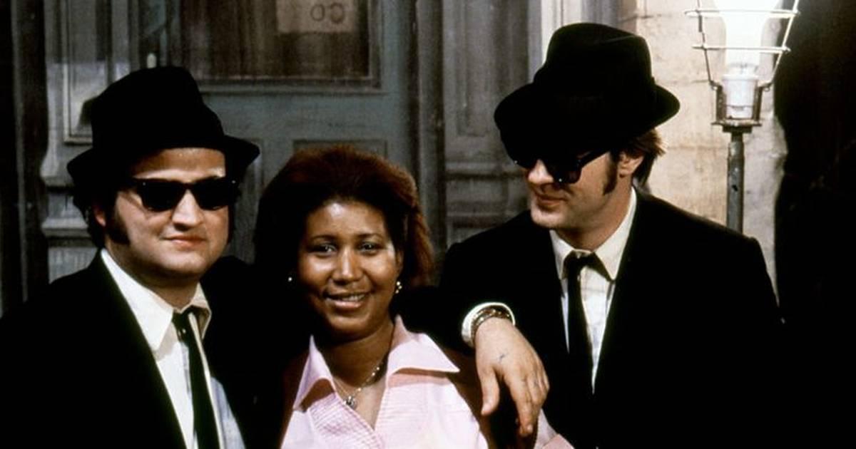 Avec Aretha Franklin disparaît la dernière star des «Blues Brothers» https://t.co/4PNuG0Sfa6
