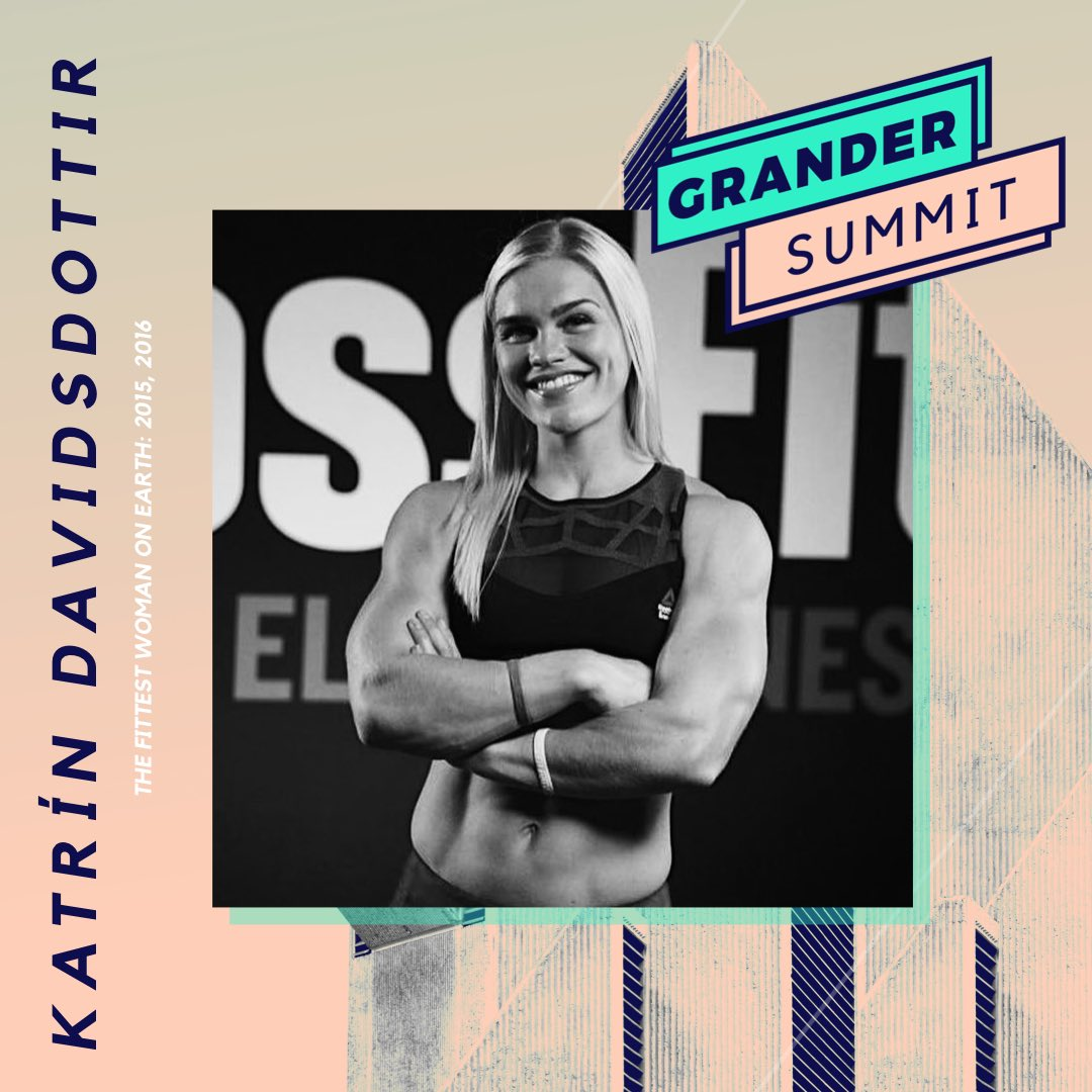 You guys.... SO excited to have @katrintanja at the #GranderSummit!! Only a few tickets left: bit.ly/2OamsF9 @BeGrander