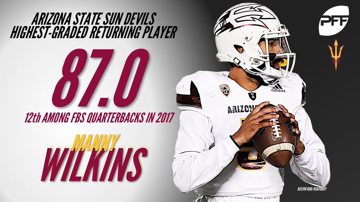 Manny Wilkins returns as Arizona States highest-graded player from a season ago