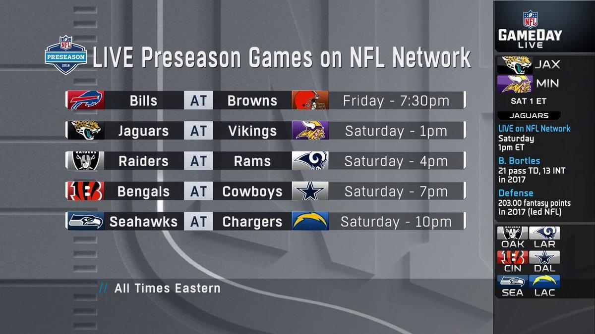 NFL Network's photo on #nflpreseason