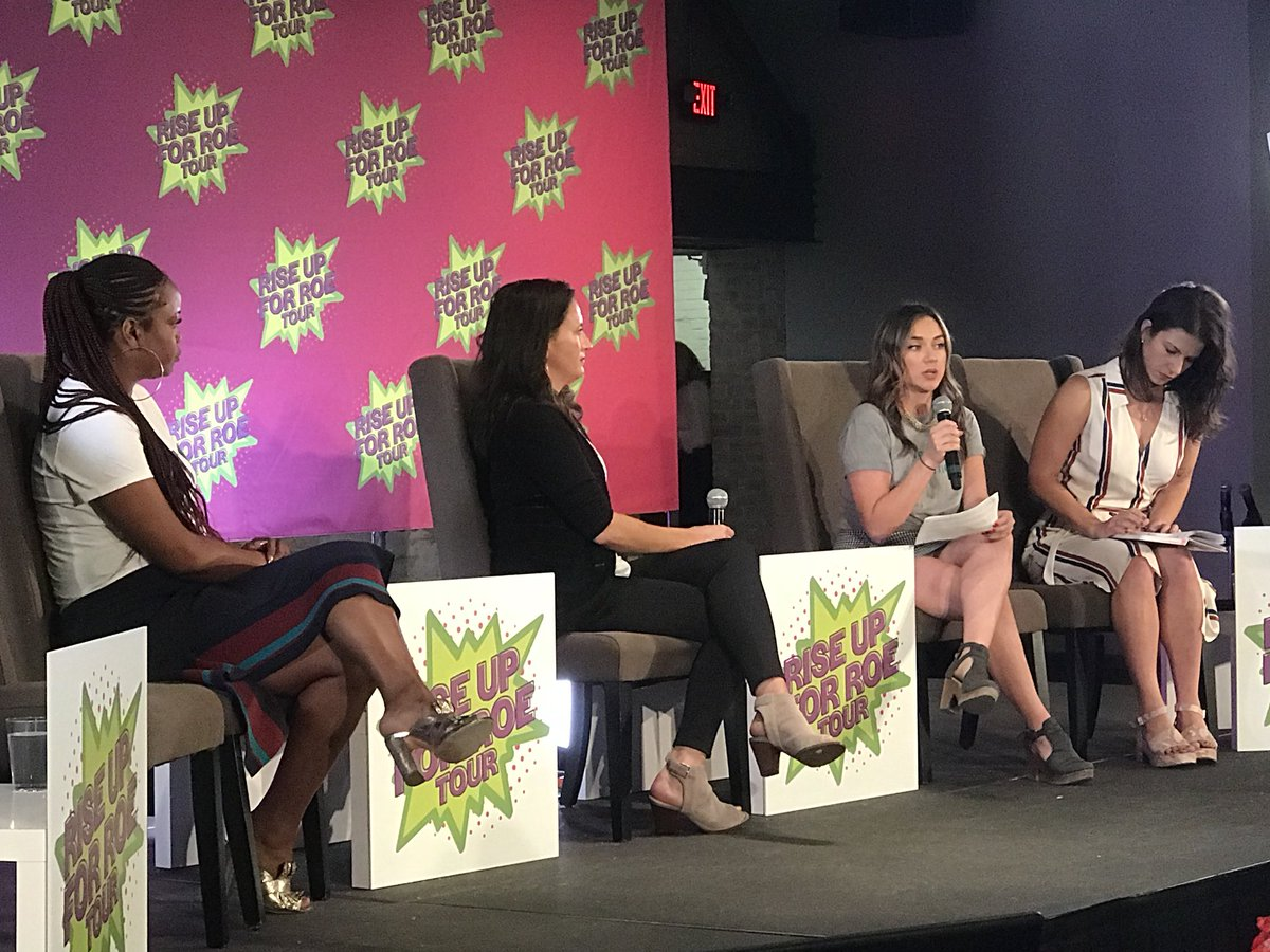 """Without *real* access to the constitutional guarantees of Roe, people will suffer and people will die...and history has taught us that it is poor folks and women of color who will bear the brunt of this.""  Thank you for sharing your story with us, Zoraima. #RiseUpForRoe"
