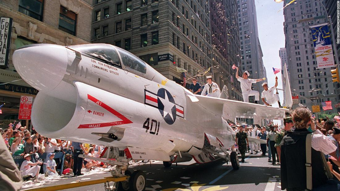 JUST IN: The Pentagon postpones President Trumps military parade cnn.it/2nImTdv